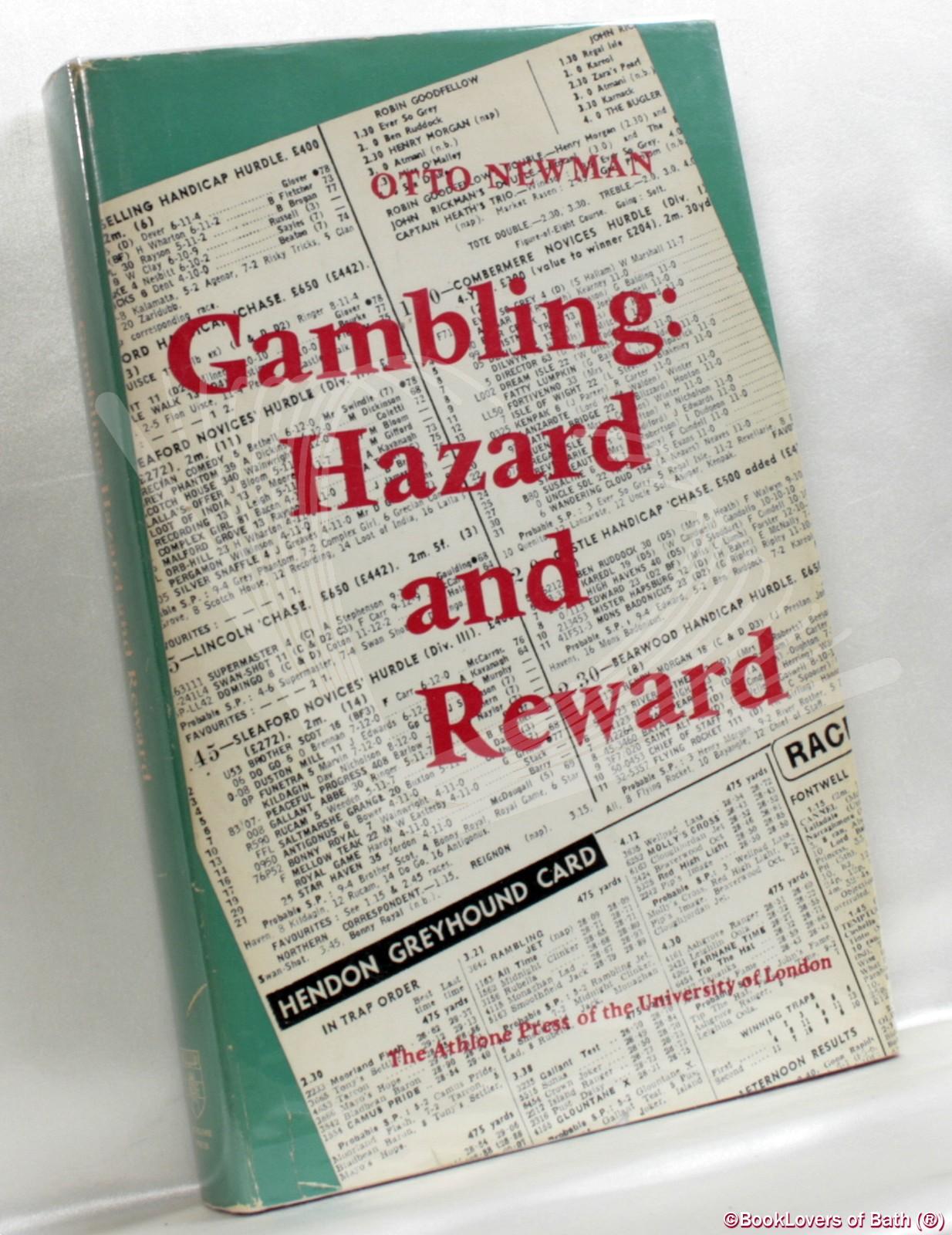 Gambling hazard and reward by otto newman