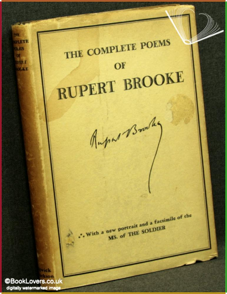 symbolism in the soldier by rupert brooke A soldier by: robert frost metrical scheme  symbolism background born: march 26, 1874  after a soldier dies his spirit goes into the after life.