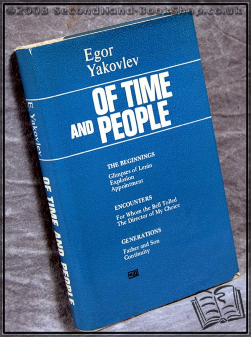 Of Time and People - Egor Yakovlev