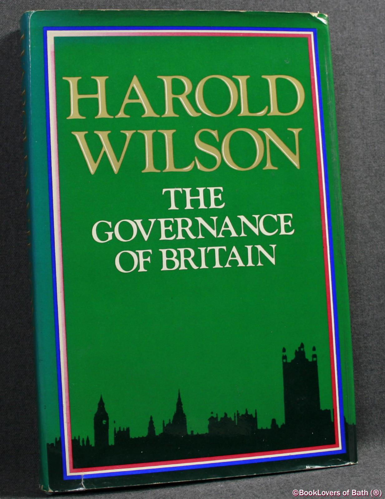 The Governance of Britain - Harold Wilson