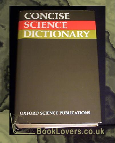 Concise Science Dictionary - VARIOUS