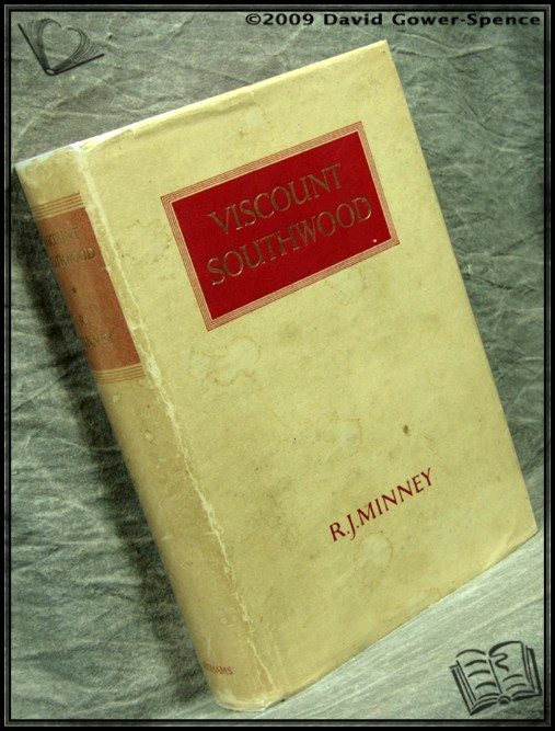 Viscount Southwood - R. J. Minney