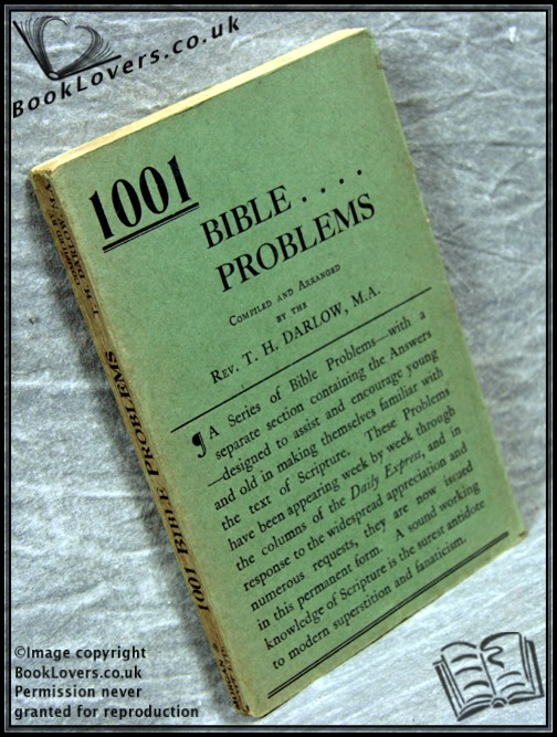 1001 Bible Problems - Thomas Herbert Darlow