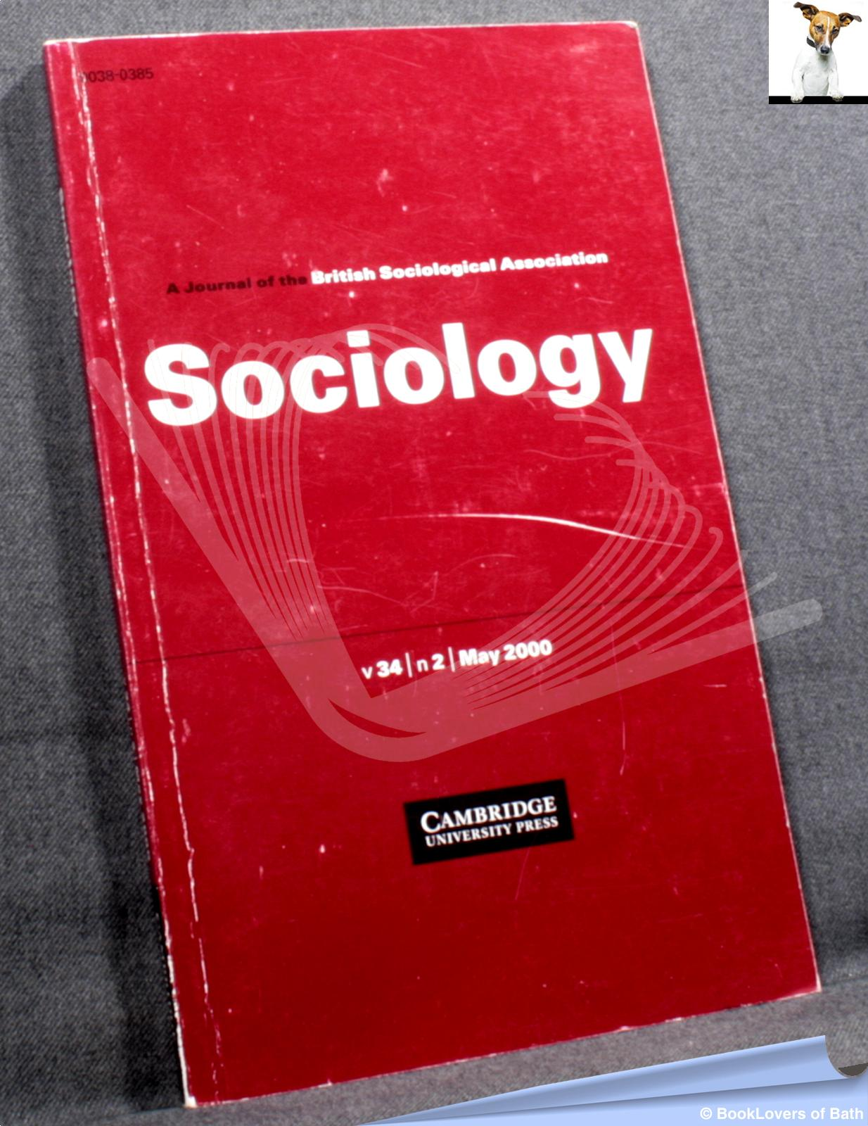 Sociology: The Journal of the British Sociological Association Volume 34, Number 2, May 2000 - Maggie O'Neill & Tony Spybey