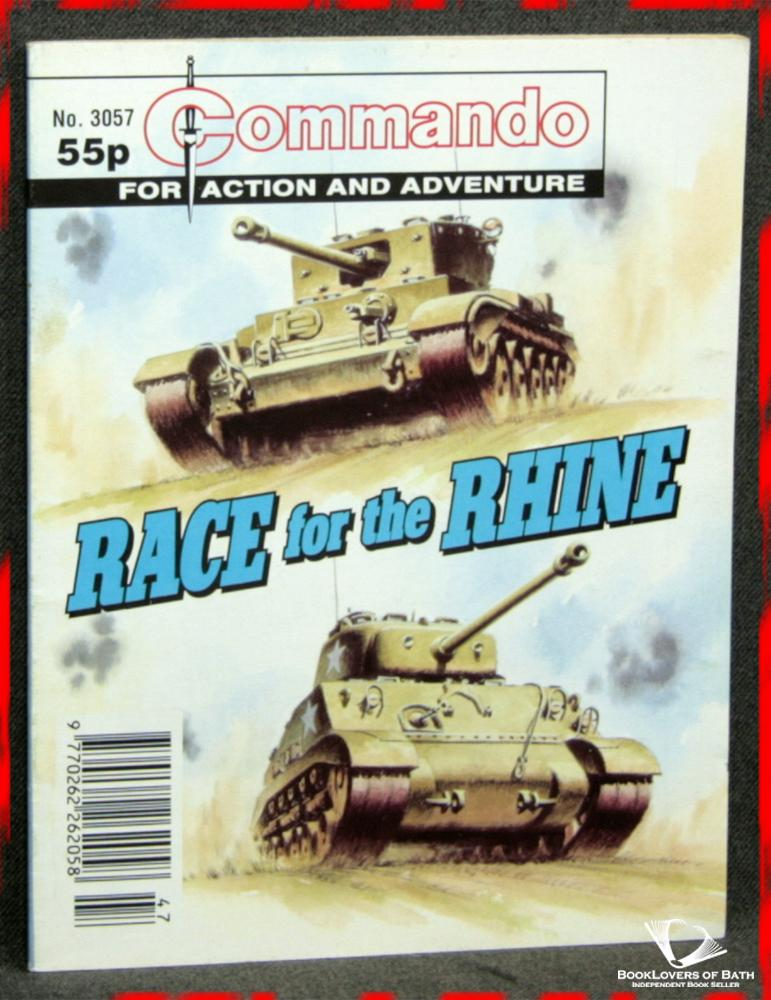Commando For Action and Adventure No. 3057: Race For the Rhine - Anon.