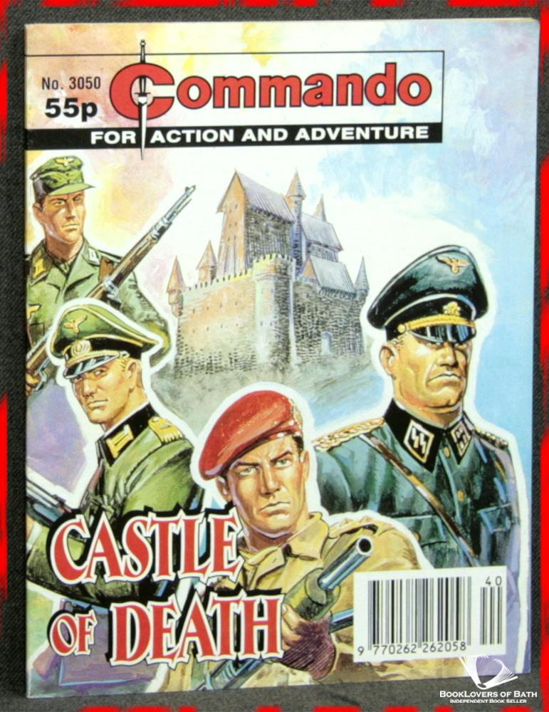 Commando For Action and Adventure No. 3050: Castle of Death - Anon.
