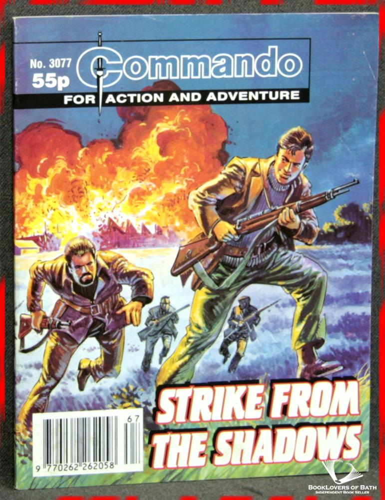 Commando For Action and Adventure No. 3077: Strike from the Shadows - Anon.