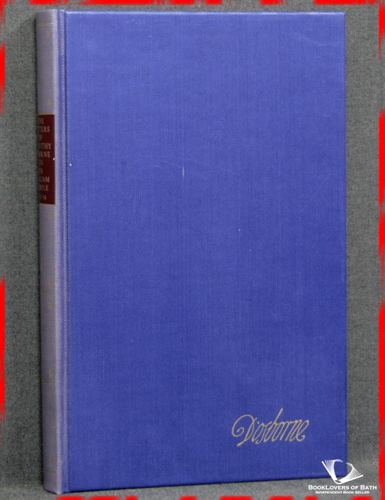 The Letters of Dorothy Osborne to Sir William Temple 1952-54 - Kingsley Hart