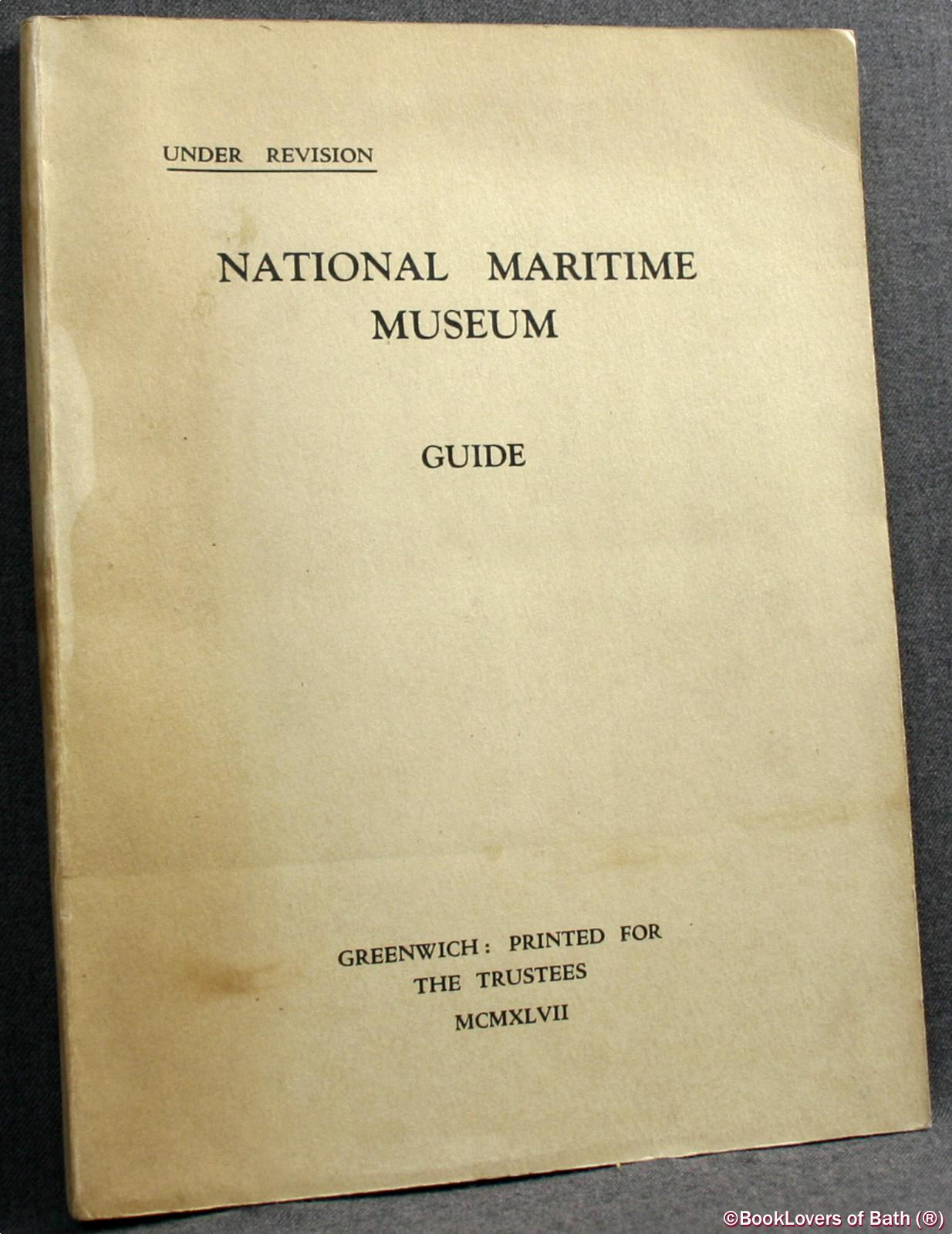 National Maritime Museum Guide - Anon.