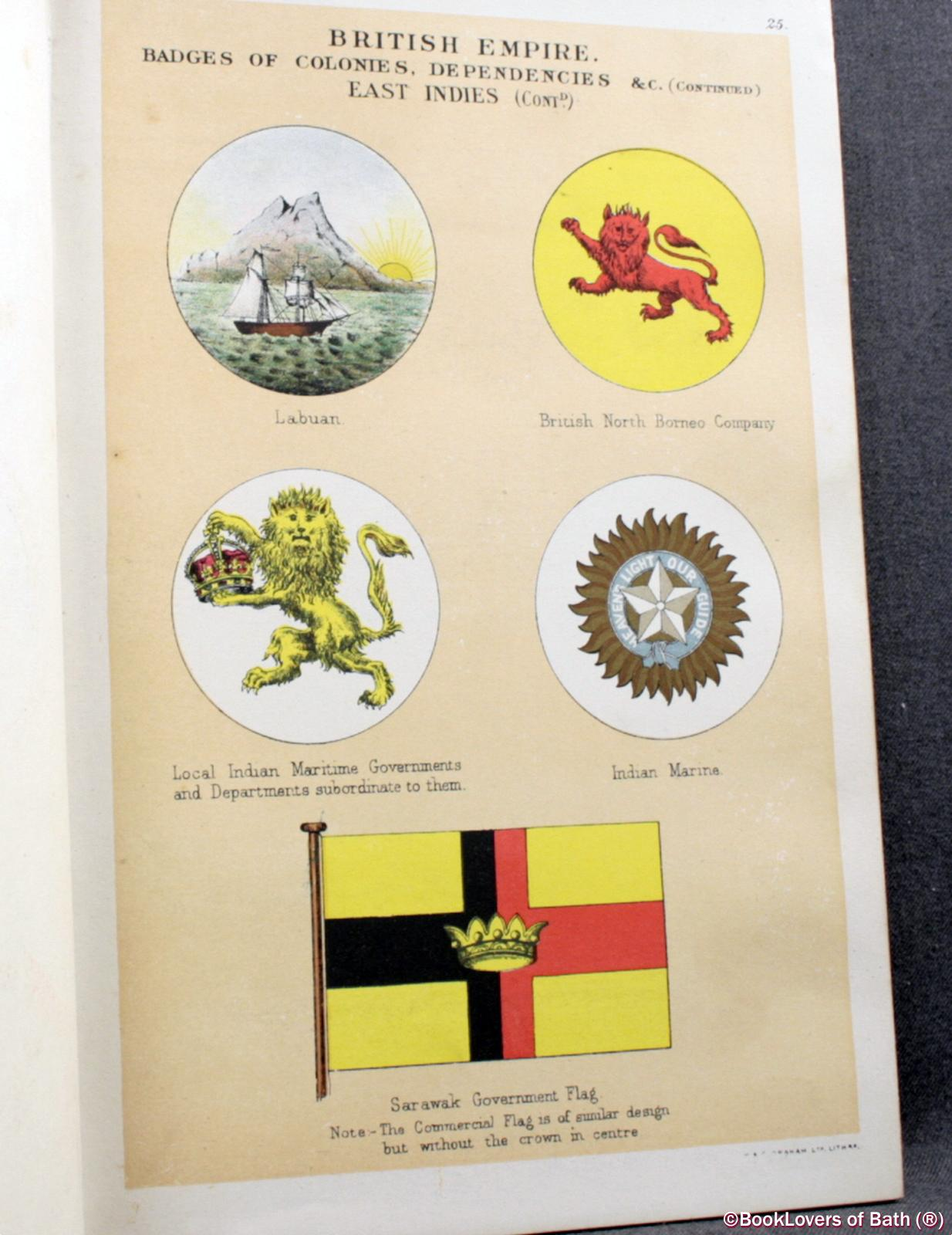 Drawings of the Flags in Use At the Present Time by Various Nations - Admiralty