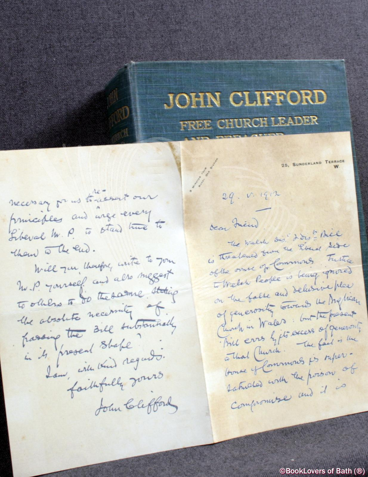 John Clifford: Free Church Leader and Preacher - Charles T. [Thomas] Bateman