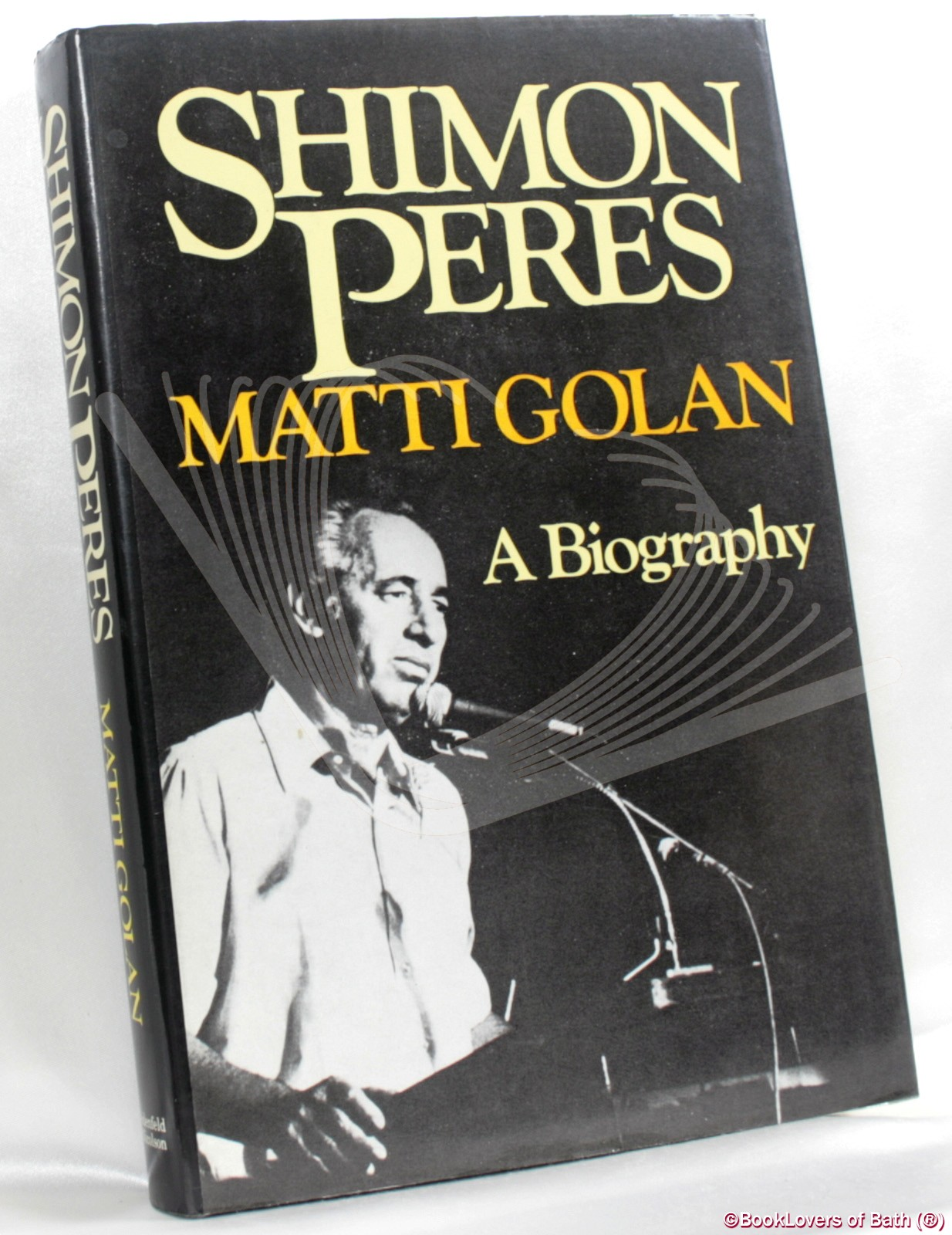 Shimon Peres: A Biography - Matti Golan