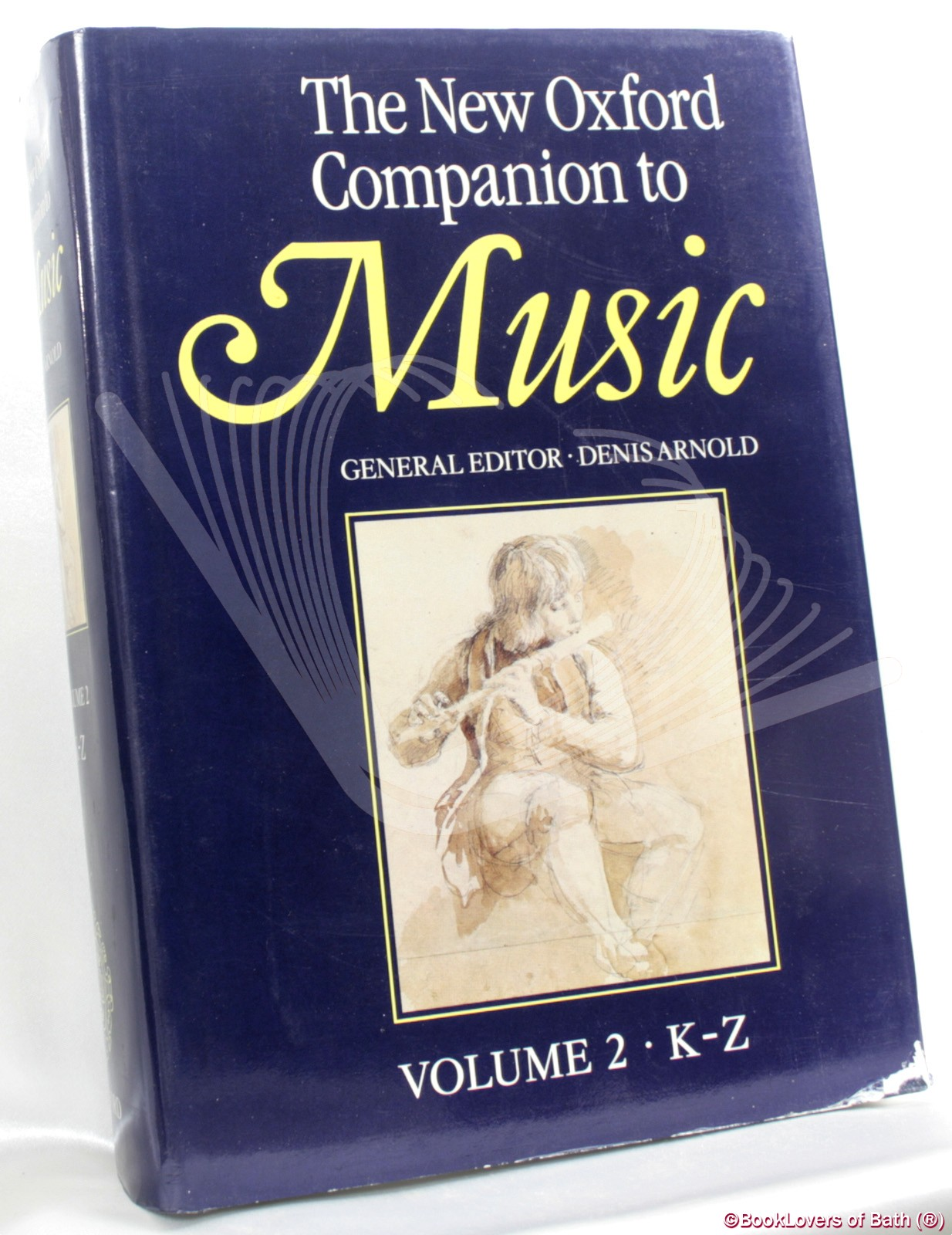 The New Oxford Companion to Music Edited by Denis Arnold