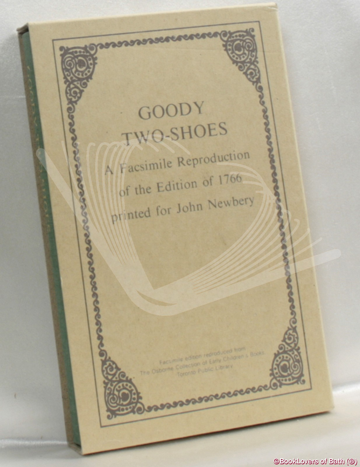 Goody Two-Shoes: A Facsimile Reproduction of the Edition of 1766 - Anon.
