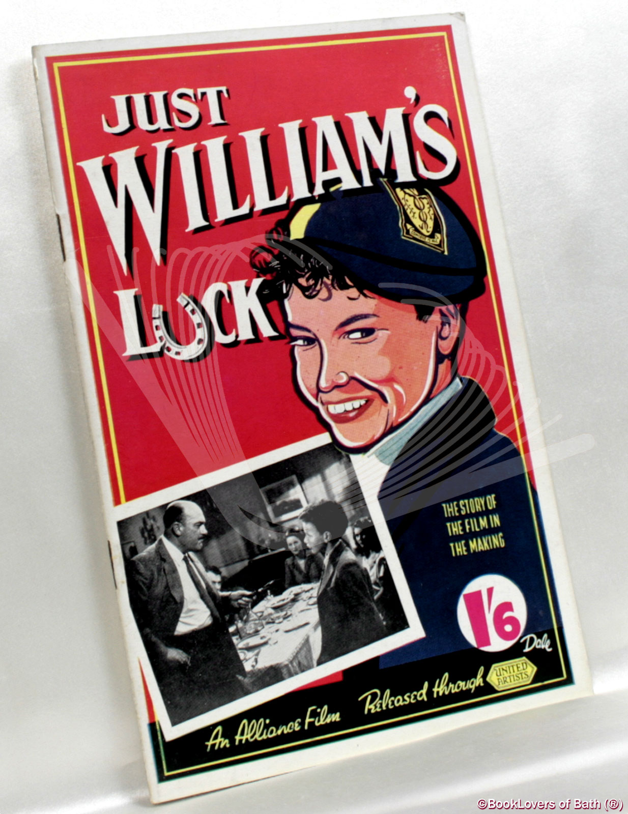 Just William's Luck: The Story of the Film in the Making - Anon.
