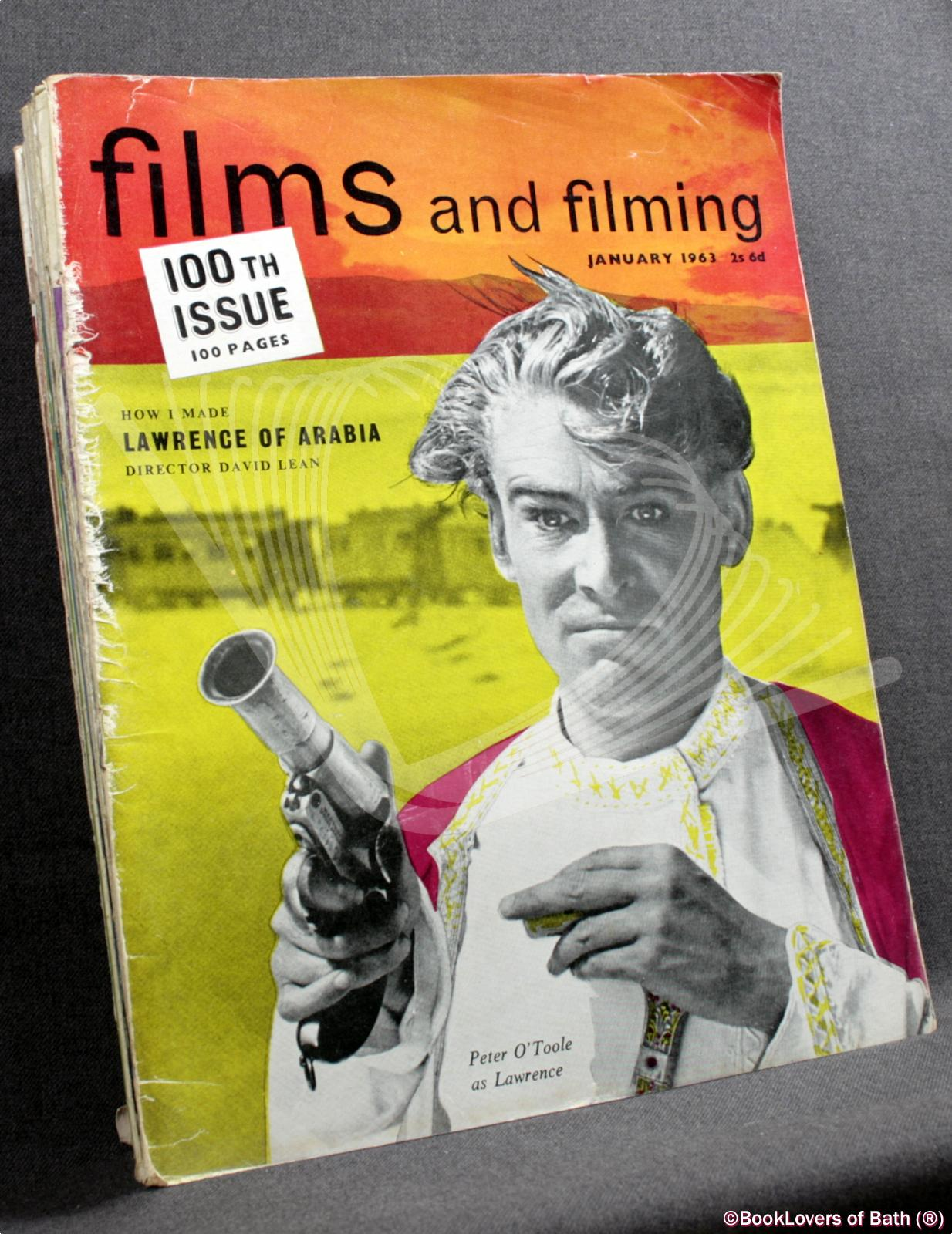 Films and Filming January 1963 Volume 9 Number 4 to December 1963 Volume 10 Number 3 - Edited by Peter Baker