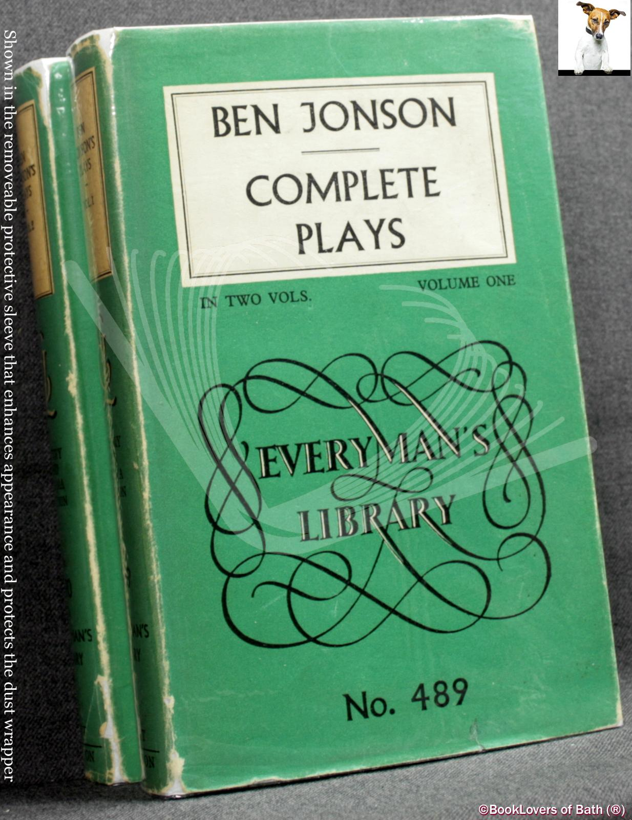 The Complete Plays of Ben Jonson - Ben Jonson