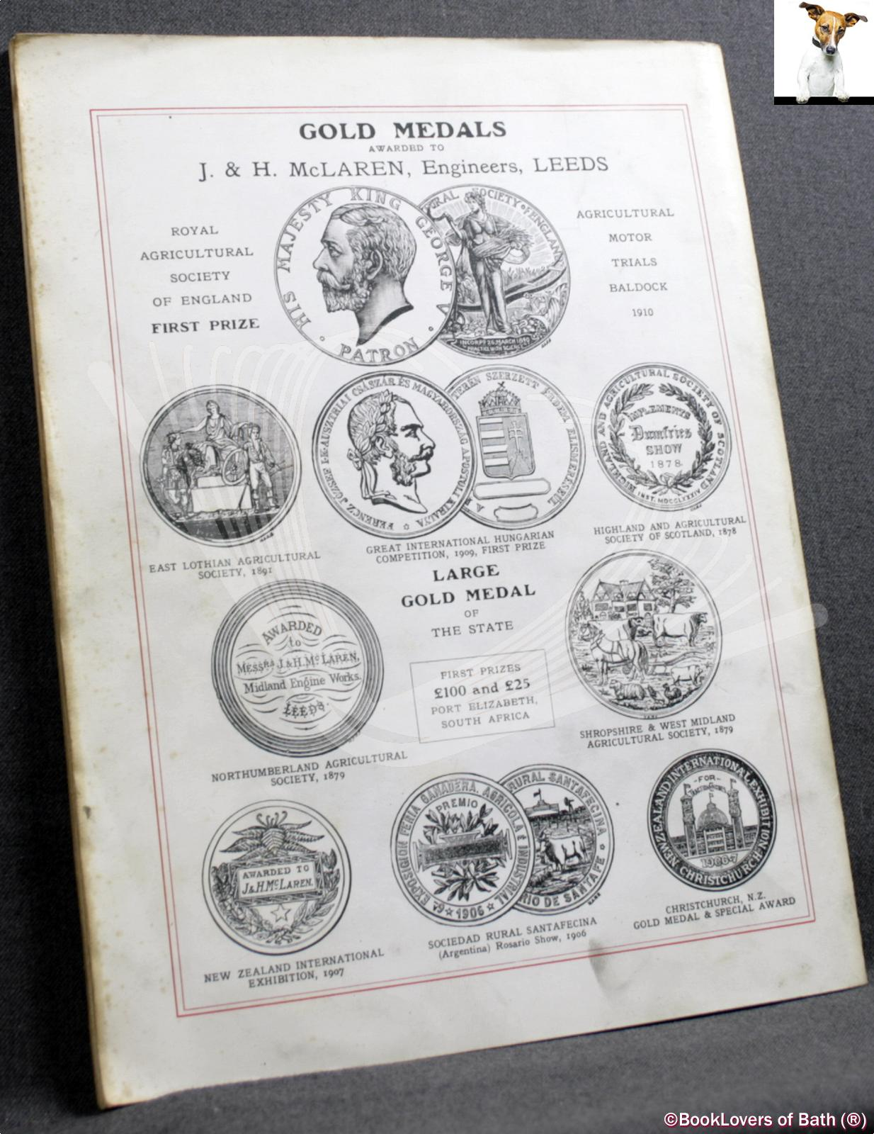 Catalogue of Traction Engines Royal Gold Medal Steam Tractors Ste