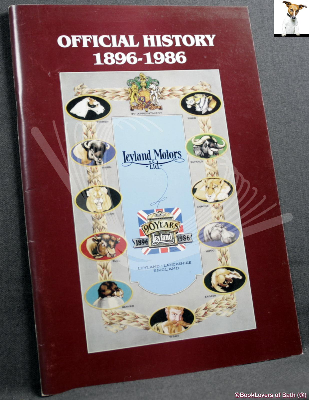 Official History 1896-1986 Leyland Motors Ltd. - Anon