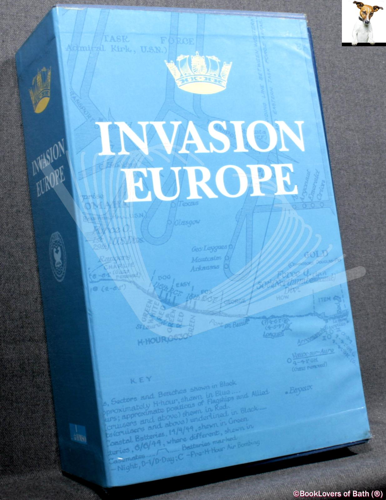 Invasion Europe: Operation Neptune - Landings in Normandy, June 1944; Campaign in North West Europe, June 1944 to May 1945; Invasion of the South of France - Operation Dragoon, August 1944; - Various