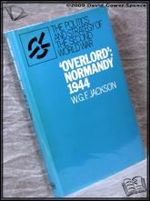 'Overlord': Normandy 1944 W. G. F. Dixon