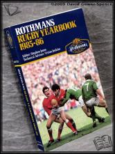 Rothmans Rugby Yearbook 1985-86 Edited by Stephen Jones