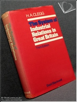The System of Industrial Relations in Great Britain 3rd Edition H