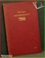 The Care and Adjustment of the Miehle: A Booklet for the Guidance