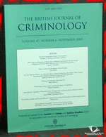 The British Journal of Crimonology Volume 45 Number 6 November 20