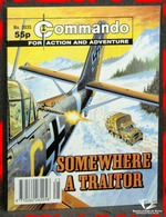 Commando For Action and Adventure No. 3035: Somewhere A Traitor A