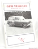GPO Vehicles: A Concise Guide to Vehicle Numbering in the Fleet o