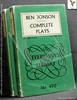 The Complete Plays of Ben Jonson Ben Jonson